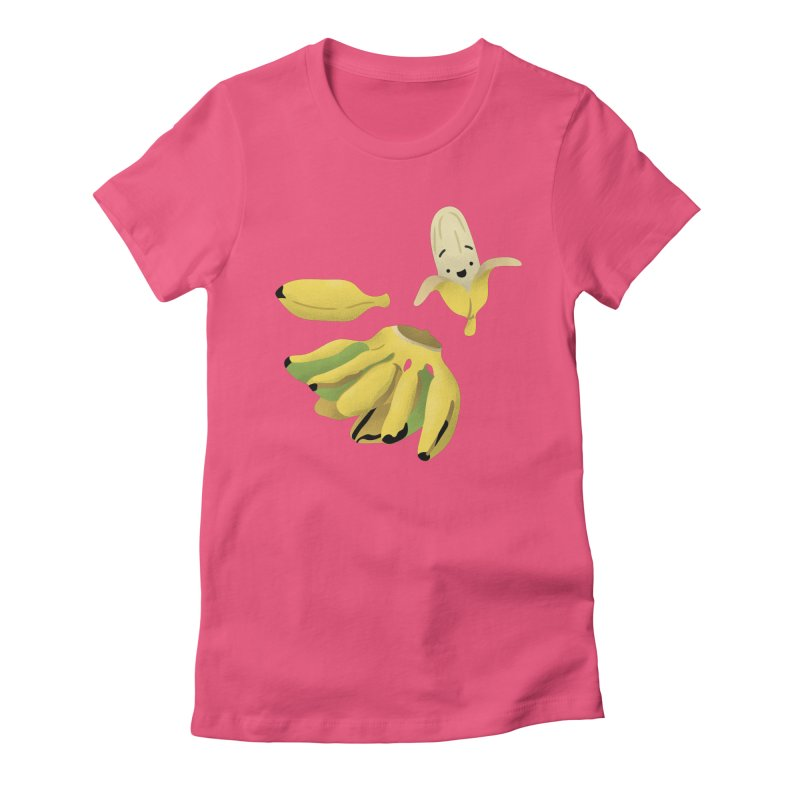 Saba bananas Women's T-Shirt by Filipeanut Sari-Sari Store