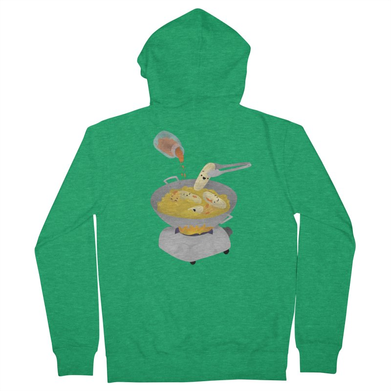 Cooking banana cue Women's Zip-Up Hoody by Filipeanut Sari-Sari Store