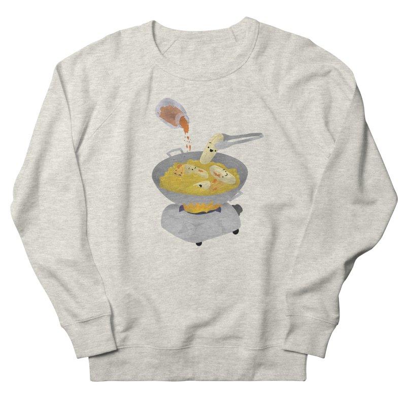 Cooking banana cue Women's French Terry Sweatshirt by Filipeanut Sari-Sari Store