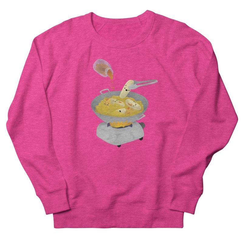 Cooking banana cue Men's French Terry Sweatshirt by Filipeanut Sari-Sari Store