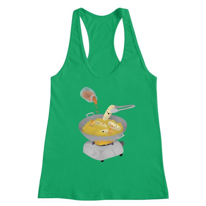 Cooking banana cue Women's Tank by Filipeanut Sari-Sari Store