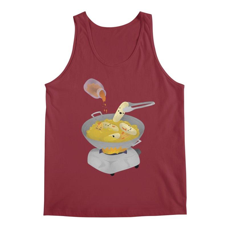 Cooking banana cue Men's Tank by Filipeanut Sari-Sari Store