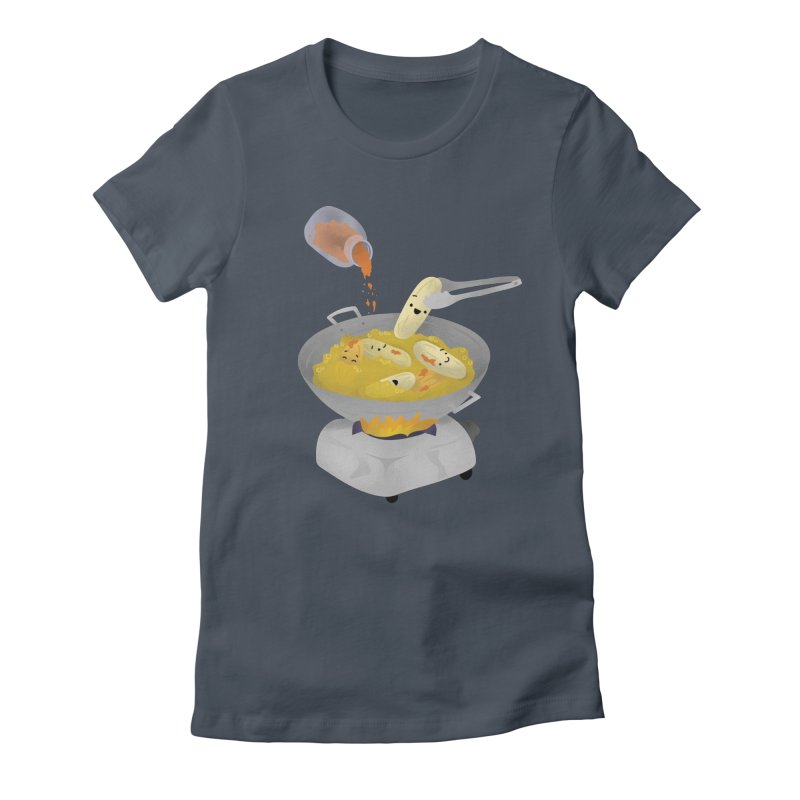 Cooking banana cue Women's T-Shirt by Filipeanut Sari-Sari Store