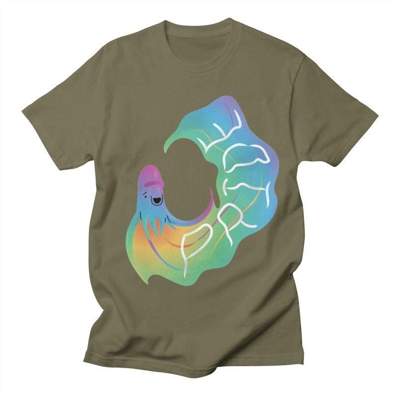 Rainbow Blanket Octopus Men's T-Shirt by Filipeanut Sari-Sari Store