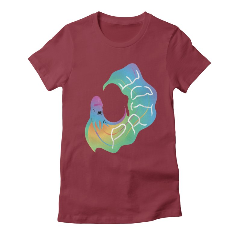 Rainbow Blanket Octopus Women's T-Shirt by Filipeanut Sari-Sari Store
