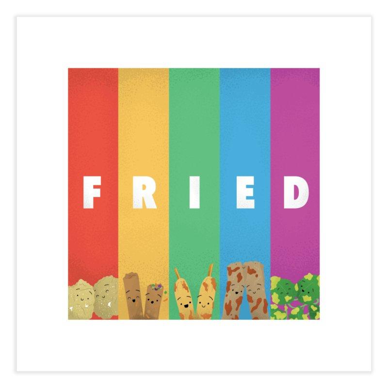 Fried Pride Home Fine Art Print by Filipeanut Sari-Sari Store
