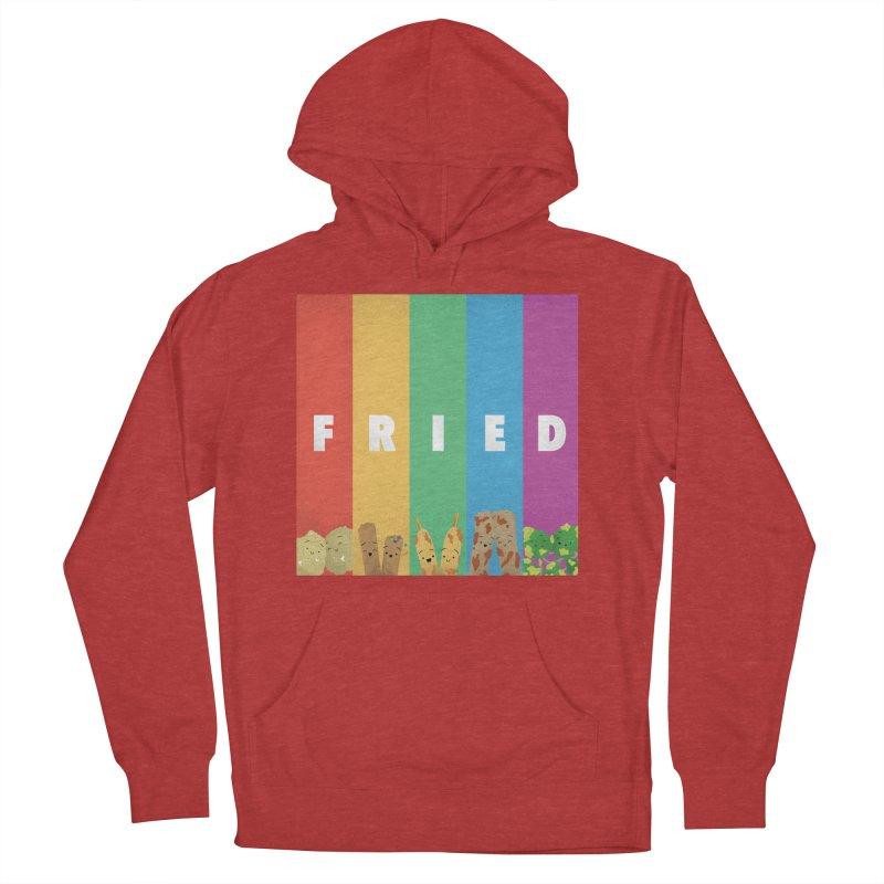 Fried Pride Men's French Terry Pullover Hoody by Filipeanut Sari-Sari Store