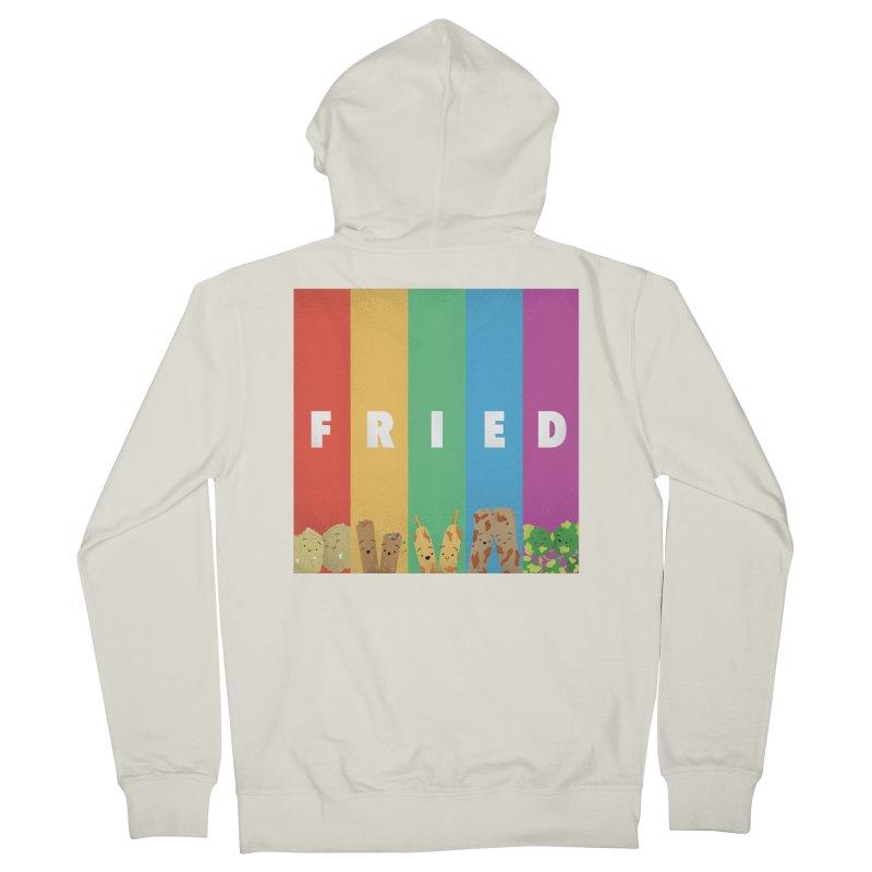 Fried Pride Women's Zip-Up Hoody by Filipeanut Sari-Sari Store