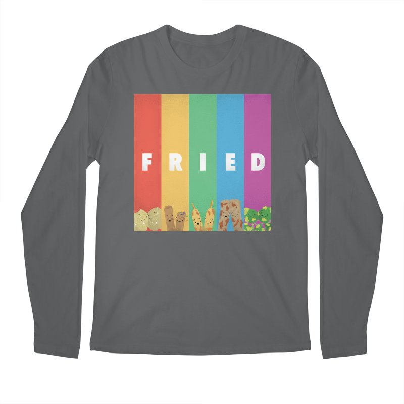 Fried Pride Men's Longsleeve T-Shirt by Filipeanut Sari-Sari Store