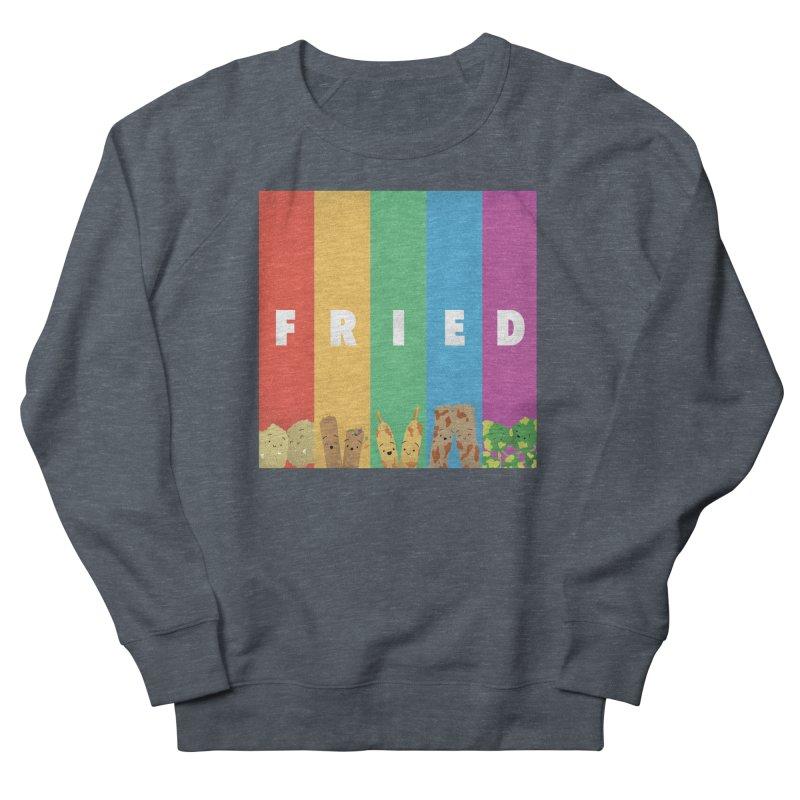 Fried Pride Women's French Terry Sweatshirt by Filipeanut Sari-Sari Store