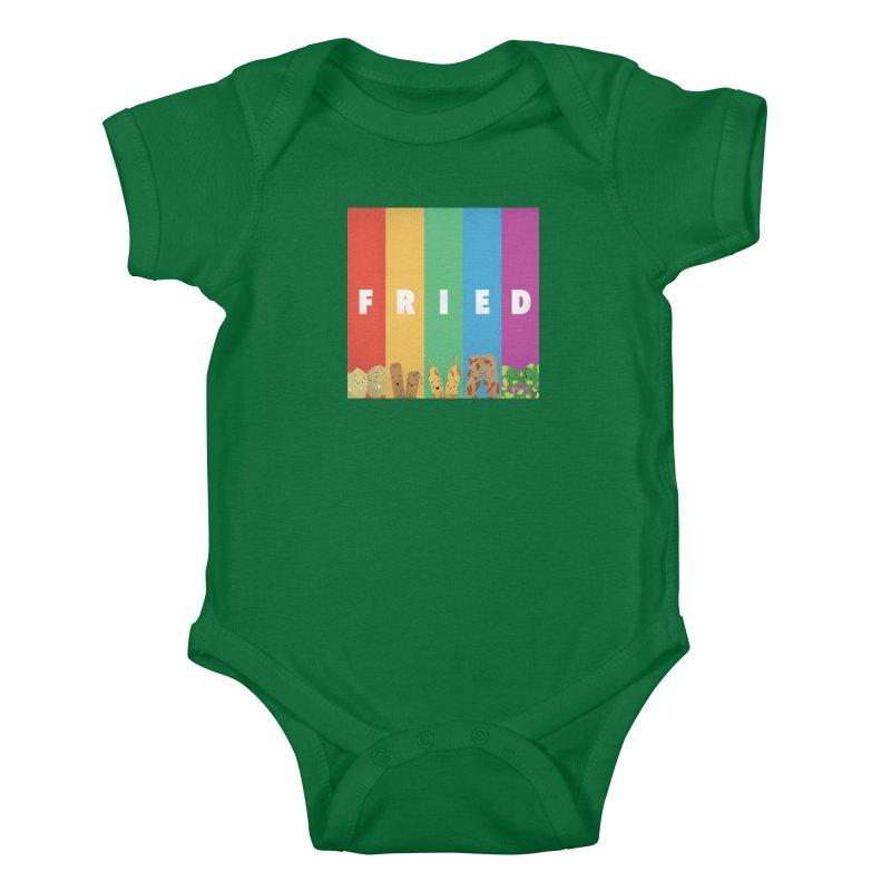 Fried Pride Kids Baby Bodysuit by Filipeanut Sari-Sari Store