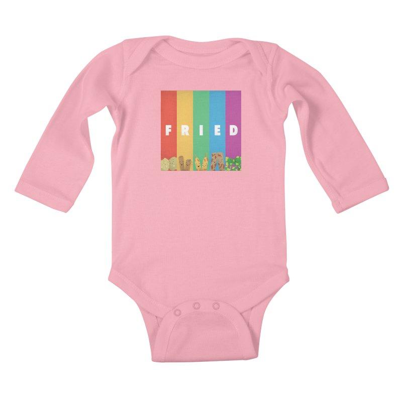 Fried Pride Kids Baby Longsleeve Bodysuit by Filipeanut Sari-Sari Store