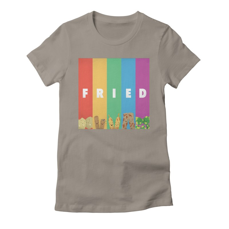 Fried Pride Women's T-Shirt by Filipeanut Sari-Sari Store