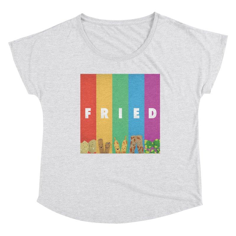 Fried Pride Women's Scoop Neck by Filipeanut Sari-Sari Store