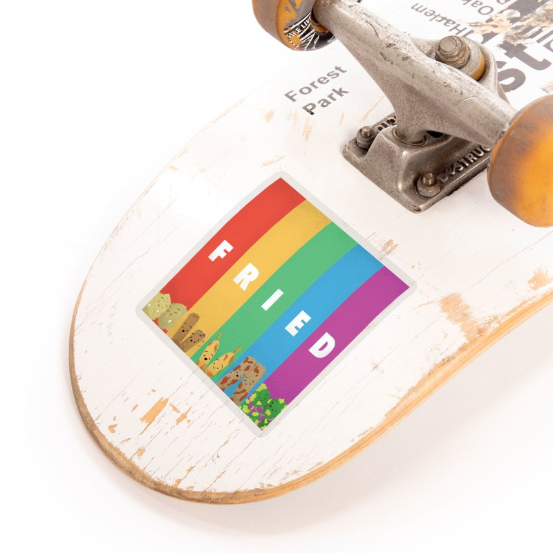 Fried Pride Accessories Sticker by Filipeanut Sari-Sari Store