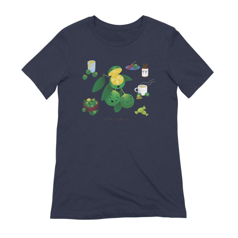 Calamansi Women's Extra Soft T-Shirt by Filipeanut Sari-Sari Store
