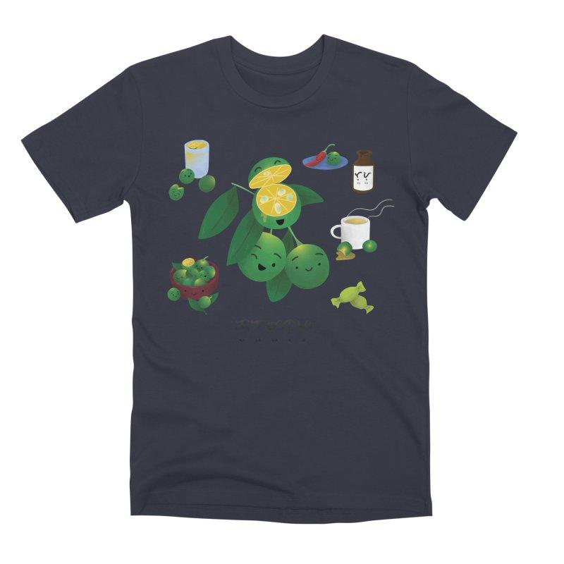 Calamansi Men's Premium T-Shirt by Filipeanut Sari-Sari Store