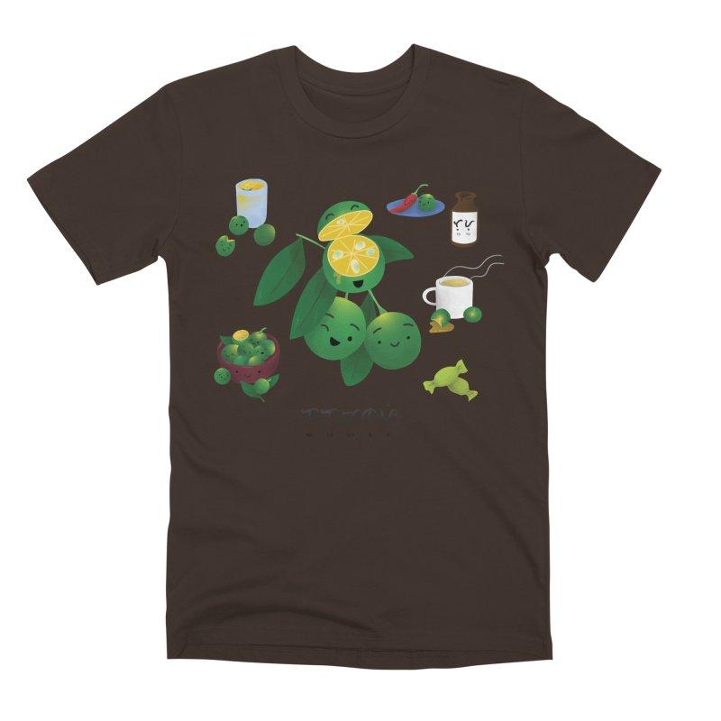 Calamansi Men's T-Shirt by Filipeanut Sari-Sari Store