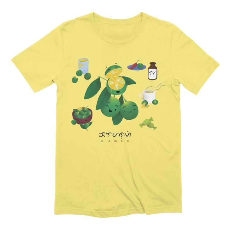 Calamansi Men's Extra Soft T-Shirt by Filipeanut Sari-Sari Store