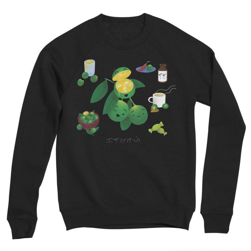 Calamansi Men's Sponge Fleece Sweatshirt by Filipeanut Sari-Sari Store