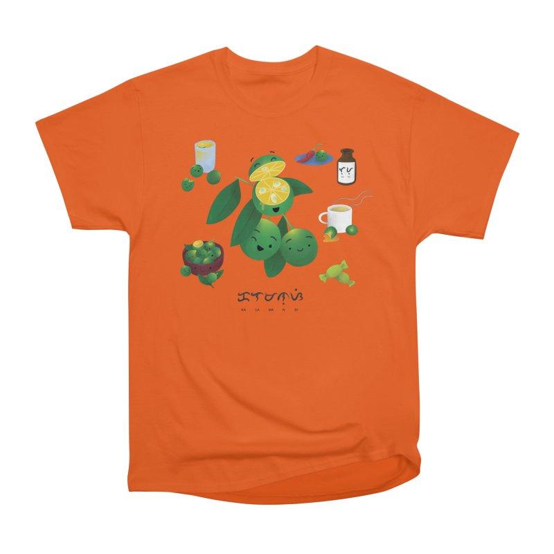 Calamansi Women's Heavyweight Unisex T-Shirt by Filipeanut Sari-Sari Store
