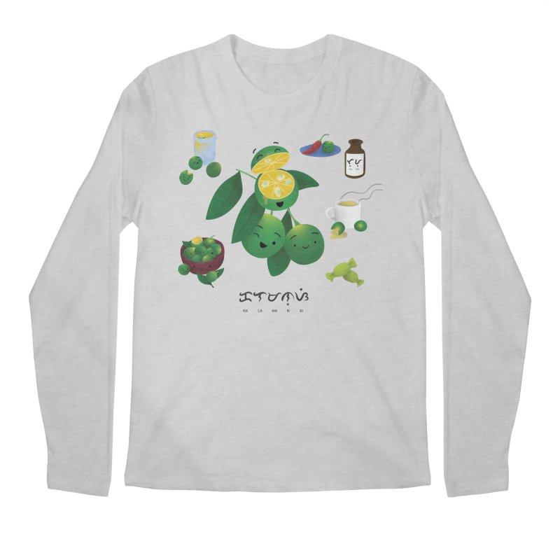 Calamansi Men's Longsleeve T-Shirt by Filipeanut Sari-Sari Store