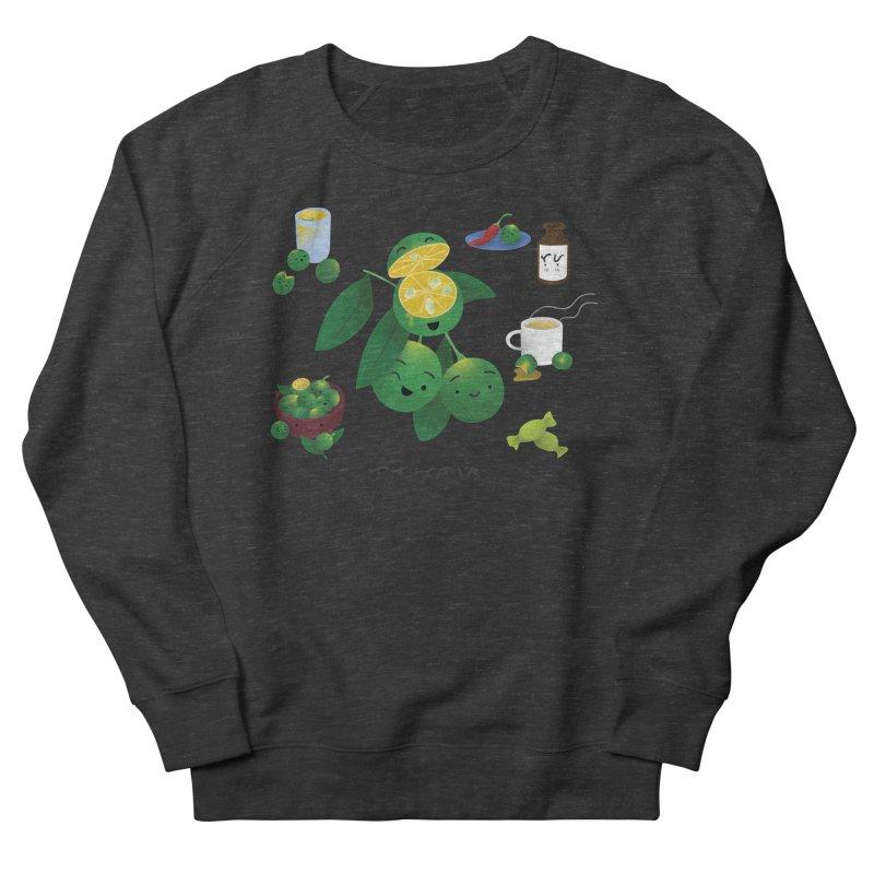 Calamansi Women's French Terry Sweatshirt by Filipeanut Sari-Sari Store