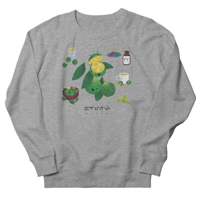 Calamansi Men's French Terry Sweatshirt by Filipeanut Sari-Sari Store