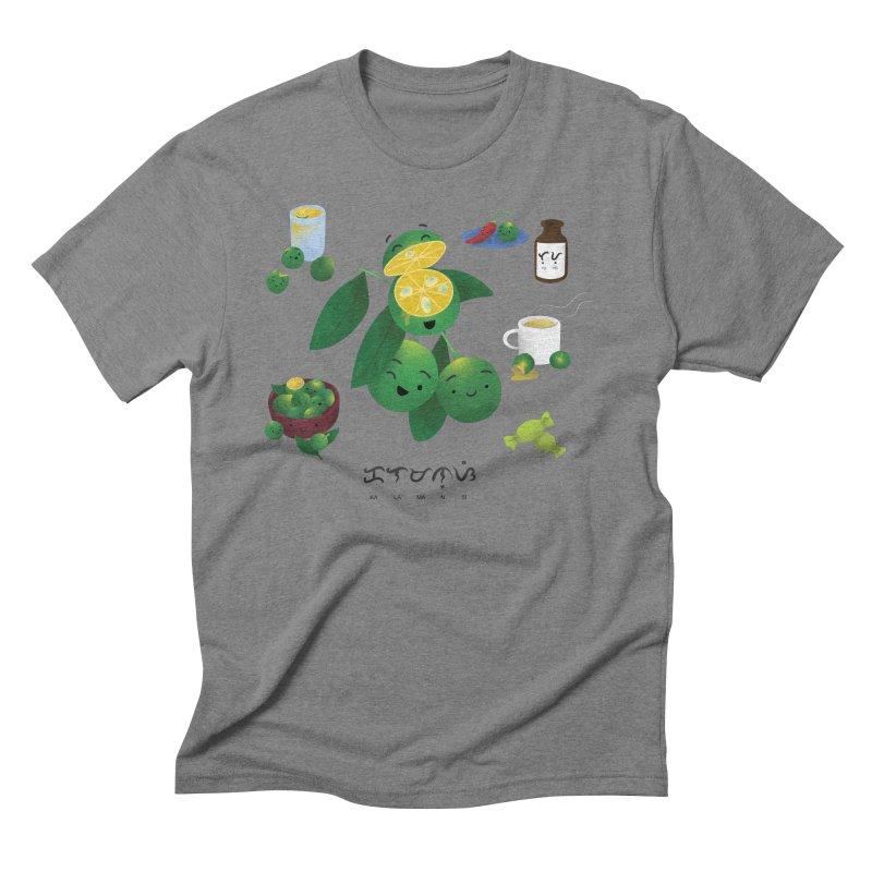 Calamansi Men's Triblend T-Shirt by Filipeanut Sari-Sari Store