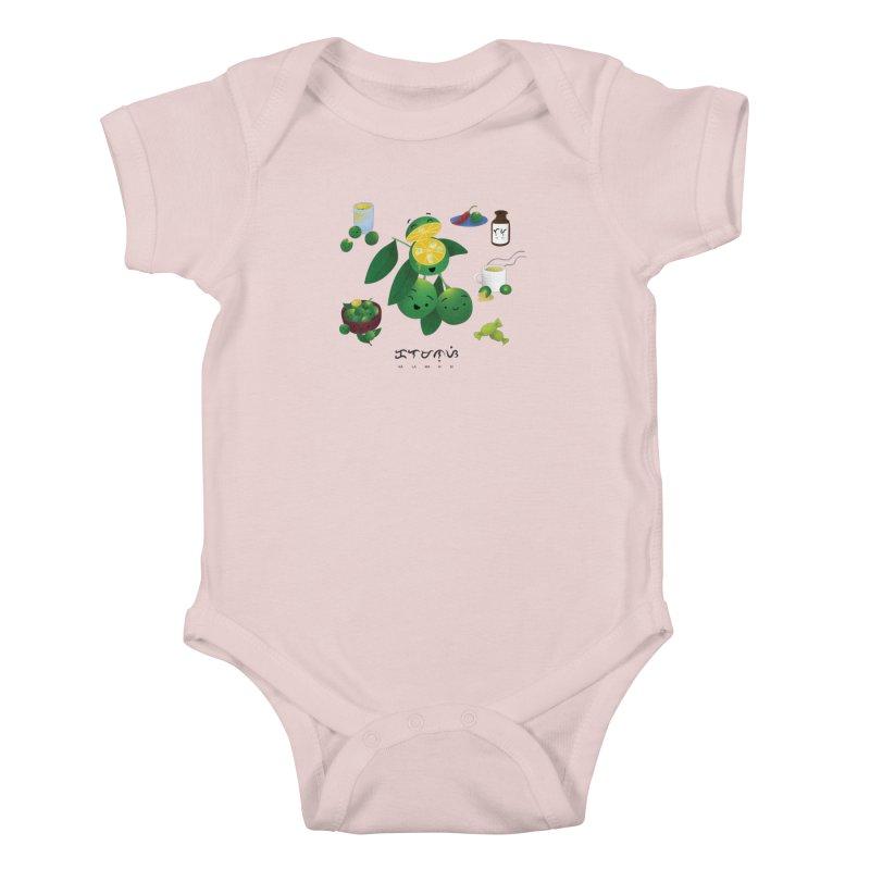 Calamansi Kids Baby Bodysuit by Filipeanut Sari-Sari Store