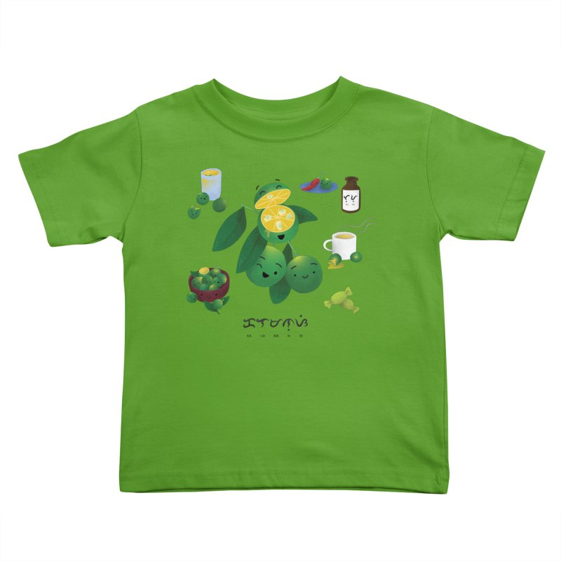 Calamansi Kids Toddler T-Shirt by Filipeanut Sari-Sari Store