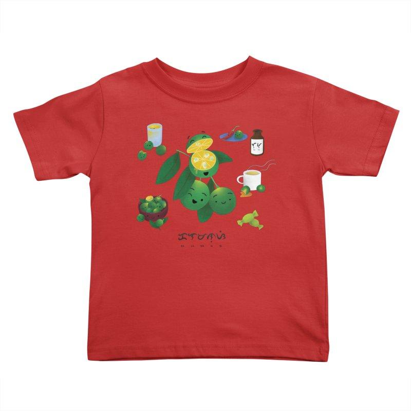 Calamansi Kids Toddler T-Shirt by Filipeanut Sari-Sari Store