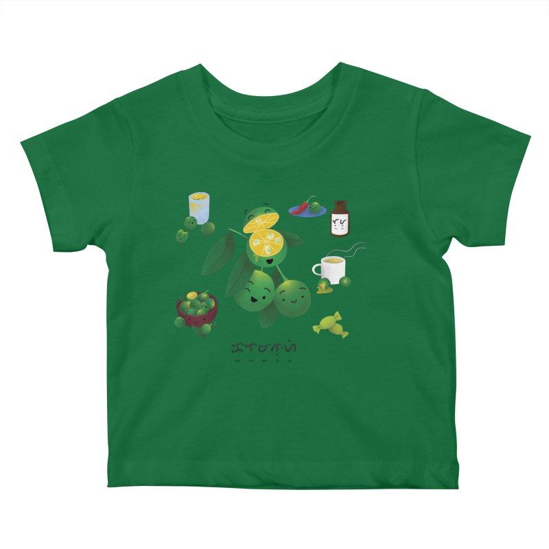 Calamansi Kids Baby T-Shirt by Filipeanut Sari-Sari Store