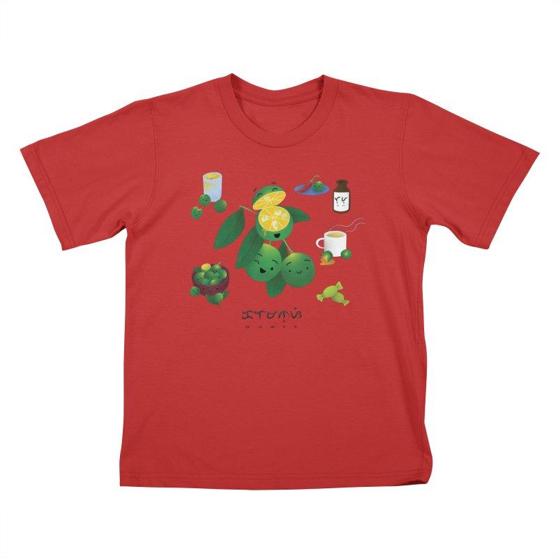 Calamansi Kids T-Shirt by Filipeanut Sari-Sari Store