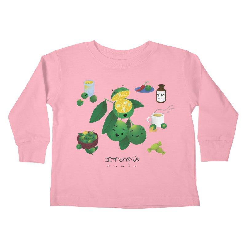 Calamansi Kids Toddler Longsleeve T-Shirt by Filipeanut Sari-Sari Store