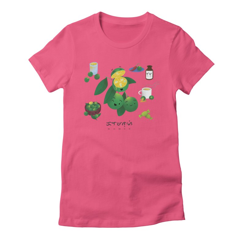 Calamansi Women's Fitted T-Shirt by Filipeanut Sari-Sari Store