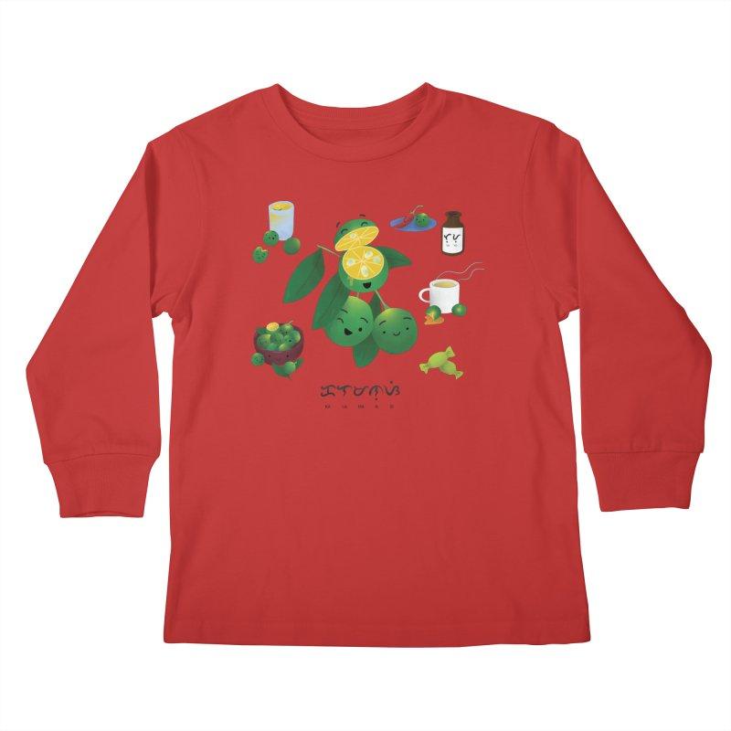 Calamansi Kids Longsleeve T-Shirt by Filipeanut Sari-Sari Store