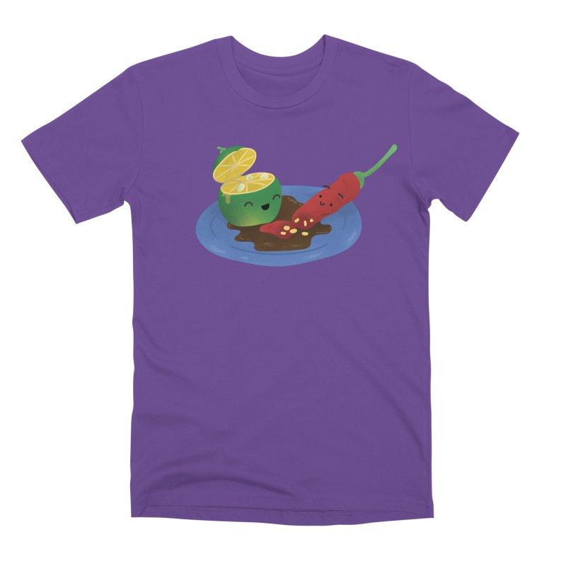 Calamansi & Sili Men's T-Shirt by Filipeanut Sari-Sari Store