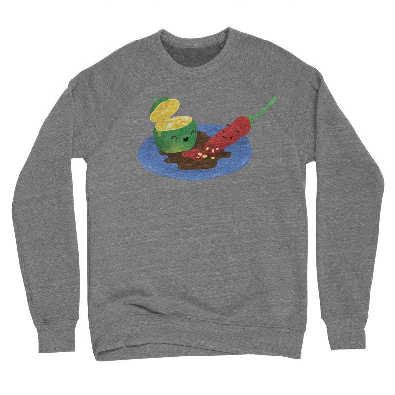 Calamansi & Sili Women's Sponge Fleece Sweatshirt by Filipeanut Sari-Sari Store