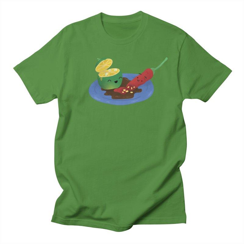 Calamansi & Sili Women's Regular Unisex T-Shirt by Filipeanut Sari-Sari Store
