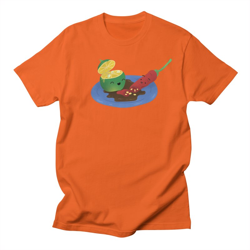 Calamansi & Sili Men's Regular T-Shirt by Filipeanut Sari-Sari Store