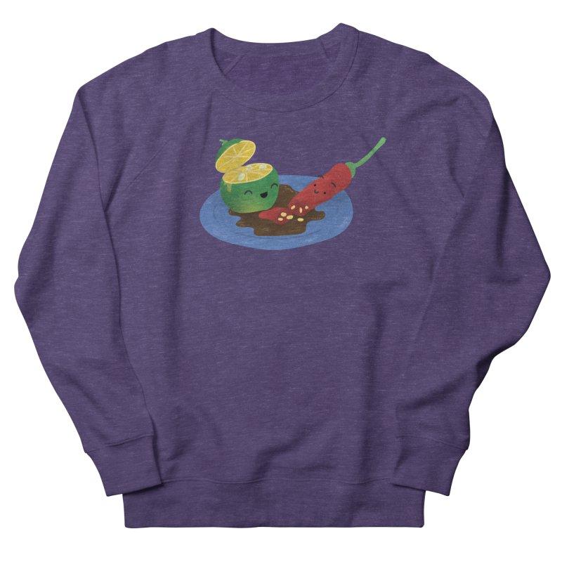 Calamansi & Sili Women's French Terry Sweatshirt by Filipeanut Sari-Sari Store