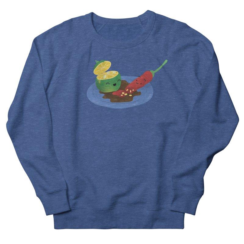 Calamansi & Sili Men's French Terry Sweatshirt by Filipeanut Sari-Sari Store