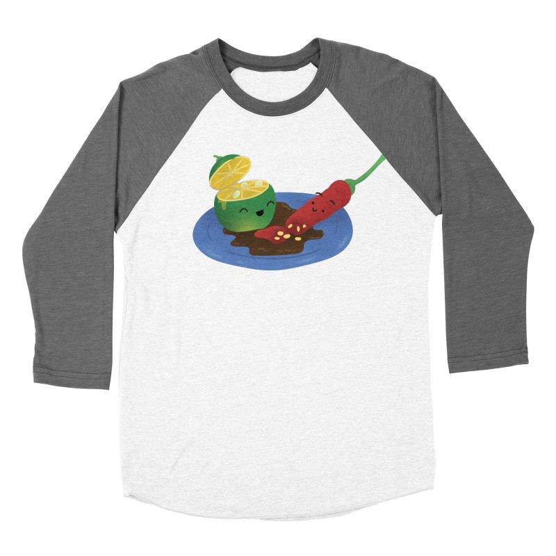 Calamansi & Sili Women's Longsleeve T-Shirt by Filipeanut Sari-Sari Store