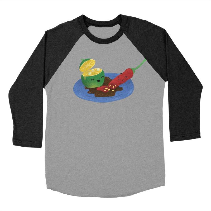 Calamansi & Sili Women's Baseball Triblend Longsleeve T-Shirt by Filipeanut Sari-Sari Store