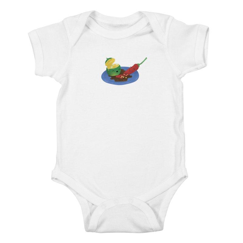 Calamansi & Sili Kids Baby Bodysuit by Filipeanut Sari-Sari Store