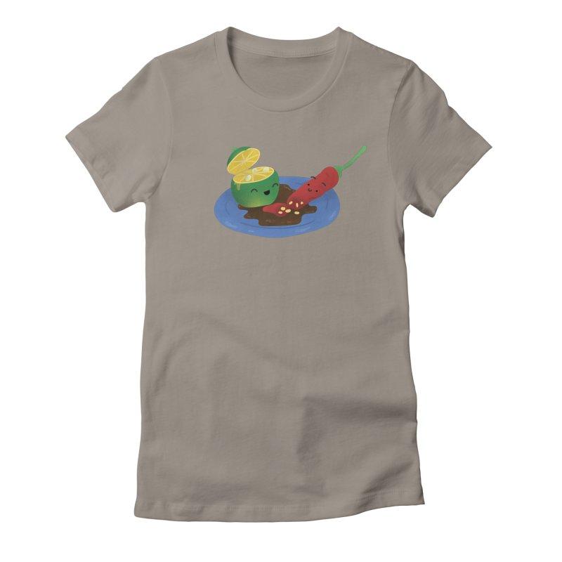 Calamansi & Sili Women's T-Shirt by Filipeanut Sari-Sari Store