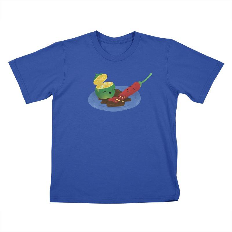 Calamansi & Sili Kids T-Shirt by Filipeanut Sari-Sari Store