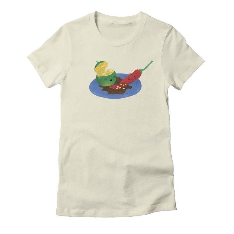 Calamansi & Sili Women's Fitted T-Shirt by Filipeanut Sari-Sari Store