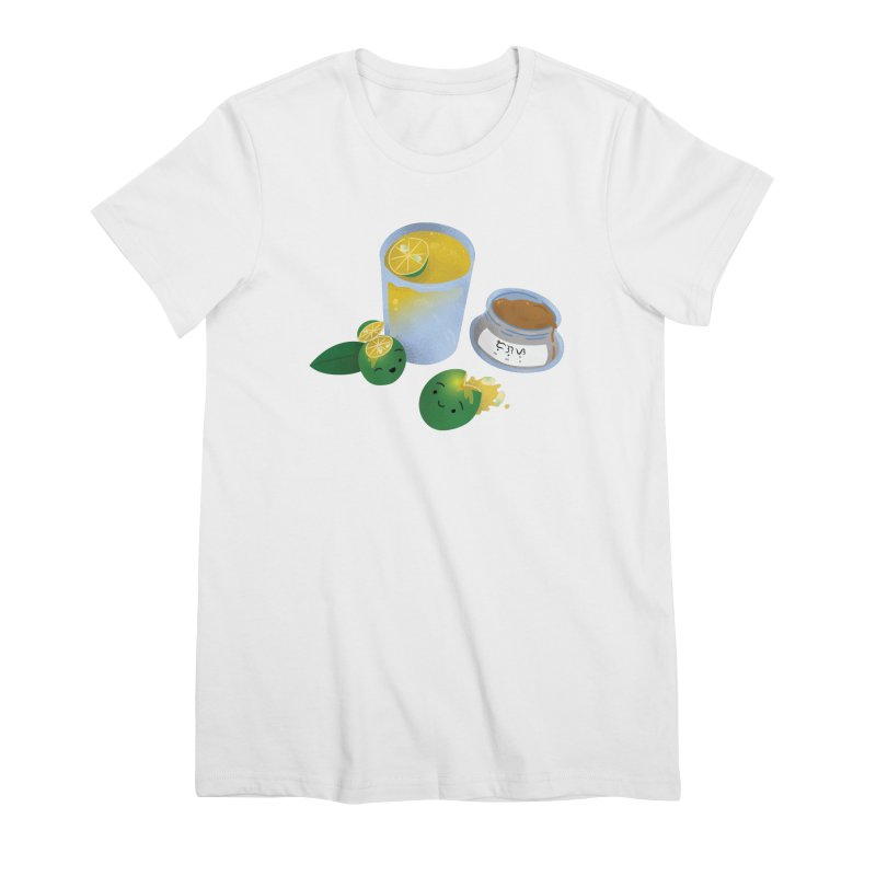 Honey Calamansi Juice Women's Premium T-Shirt by Filipeanut Sari-Sari Store